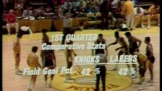 1972 NBA Finals: Knicks at Lakers, Gm 5 part 4/11