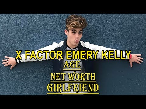 X Factor Pop Singer Emery Kelly's Net Worth, Age, Girlfriend, & Bio.