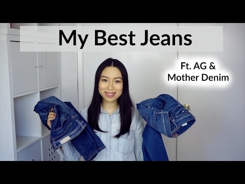 My Best Jeans ft. AG & Mother Denim   English Subs 牛仔裤推荐