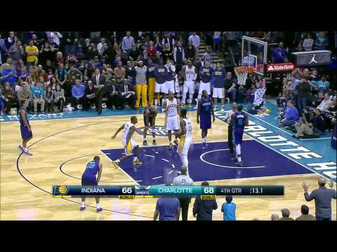 Indiana Pacers vs Charlotte Hornets | January 17, 2015 | NBA 2014-15 Season