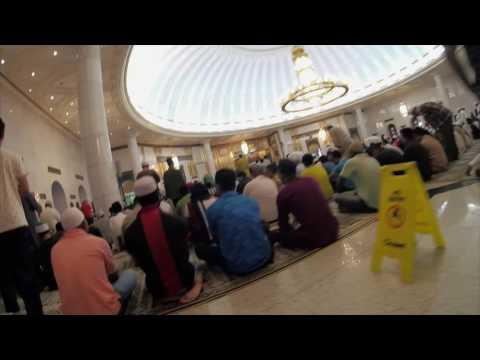 Brunei Friday Prayer at Jame' Asri Hassanal Bolkiah Mosque