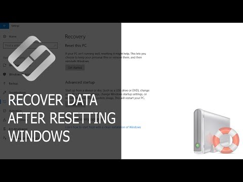 How To Recover Data After Resetting Windows 10, Resetting A Laptop To Factory Settings 📁🔥⚕️