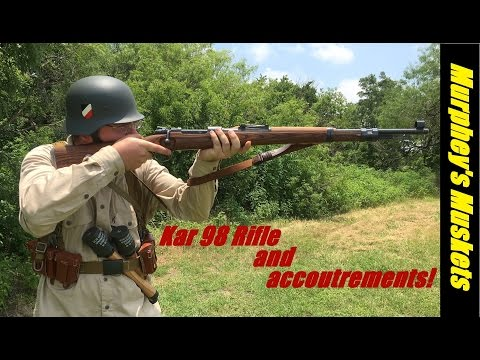 K98 Rifle and Afrika Korps Gear Review