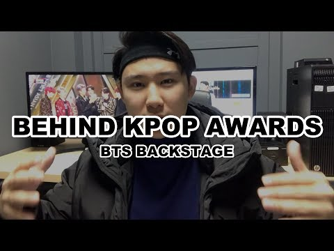 The Truth Untold Behind KPOP Award Shows How is BTS backstage?