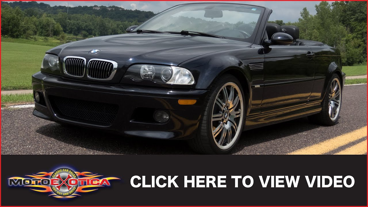 2004 Bmw M3 E46 Convertible Sold
