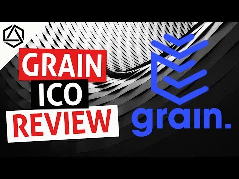 GRAIN ICO Review! The Blockchain for Work Contracts and Payments!