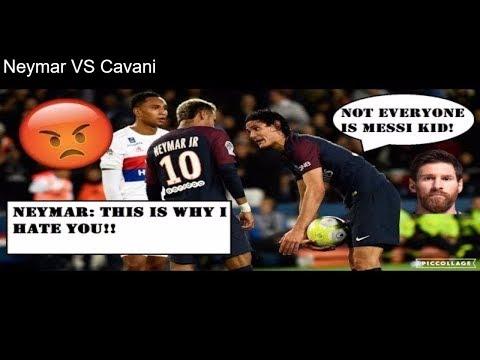 Neymar VS Cavani - A Tale Of Two Stars - DelarueTV | Street'ish