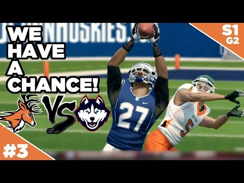 First AAC Game And It's Winnable!...maybe.... - Whitetails | NCAA Football 14  - Ep 3