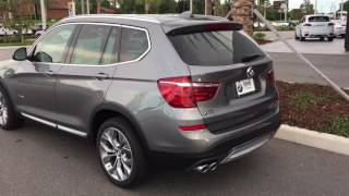 2017 and 2016 BMW X3 Comparison including XLine