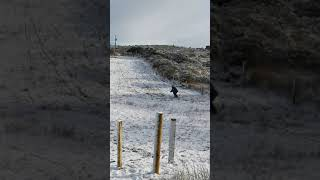Snowboarding Donegal-style!