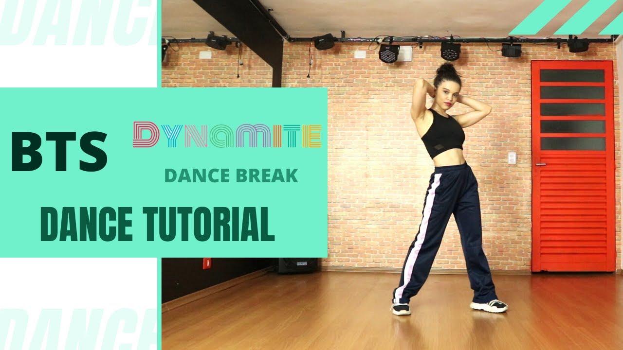 Download BTS - dynamite dance break (tutorial refrão / chorus dance tutorial - MIRRORED + EXPLANATION + SLOW)