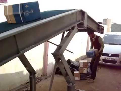 Portable Truck Loder conveyor
