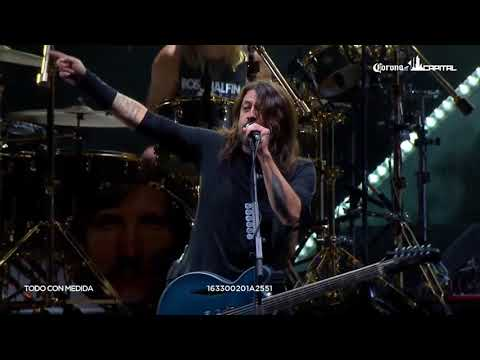 Foo Fighters - Let There Be Rock (AC/DC cover) - Corona Capitol, Mexico City, Mexico (18/11/2017)