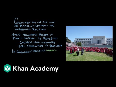 The First Amendment | The National Constitution Center | US Government And Civics | Khan Academy