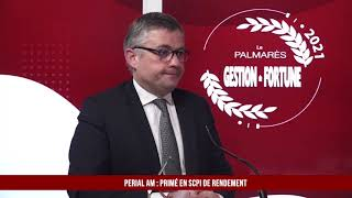 Palmarès des Fournisseurs 2021 - Perial AM