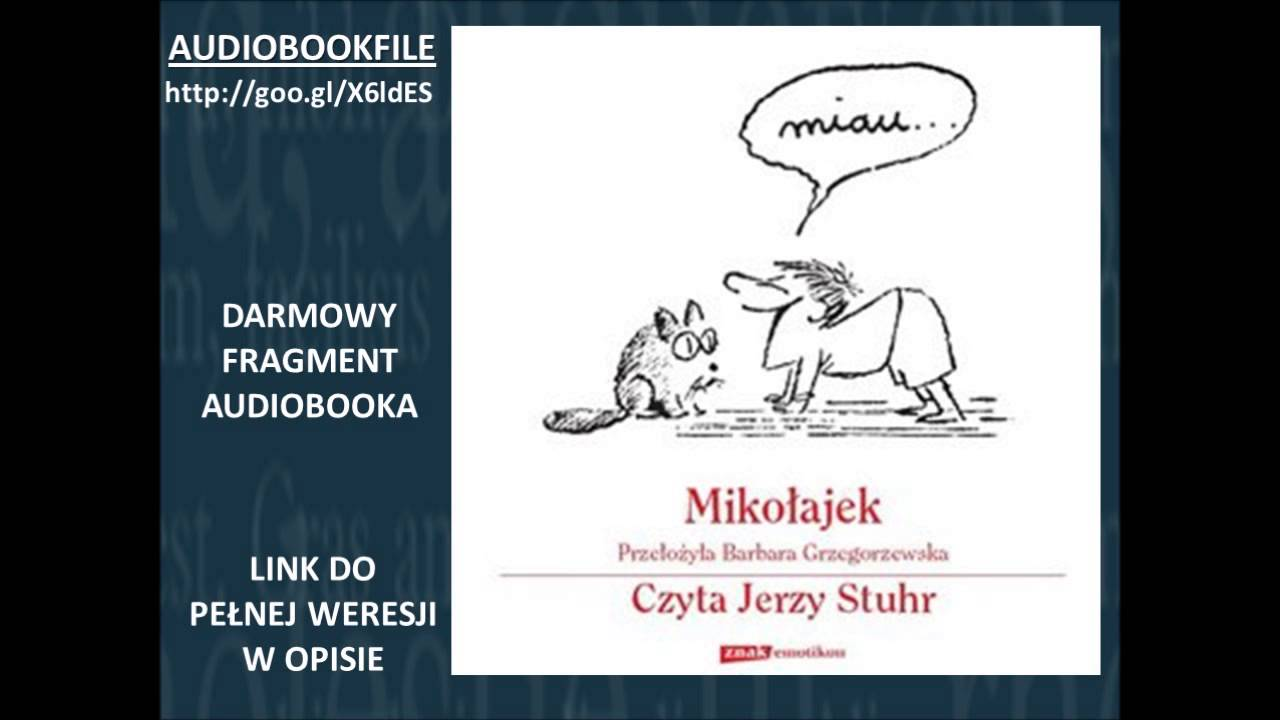 Mikołajek Czyta Jerzy Stuhr René Goscinny Audiobook Mp3 Do