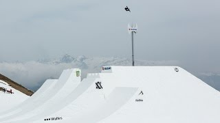 World Record Christian Haller highest snowboard air on hip at Suzuki Nine Knights 2016