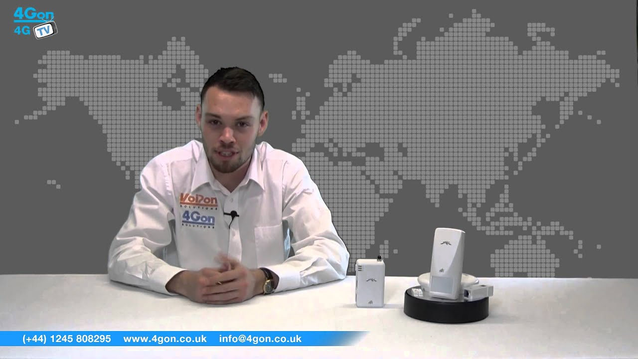 Ubiquiti mFi mSensor Range Video Review / Unboxing