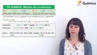 Química: U7. Método del ion-electrón en medio básico. (09/10/19)