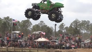 Repeat youtube video Redneck Yacht Club Mud Park, Truck Races. Part 1