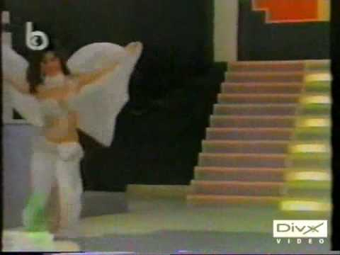 Amani- Lebanese Belly Dancer With Veil.wmv
