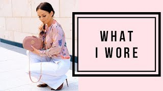 OOTD |WHAT I WORE| Touch of Elegance {June 2018}
