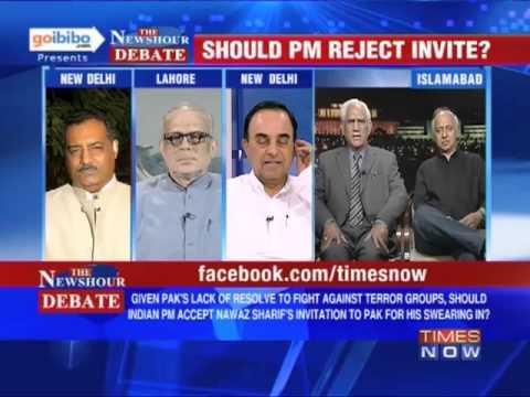 The Newshour Debate: Should PM Manmohan Singh reject Nawaz Sharif's invite? (Part 1 of 3)