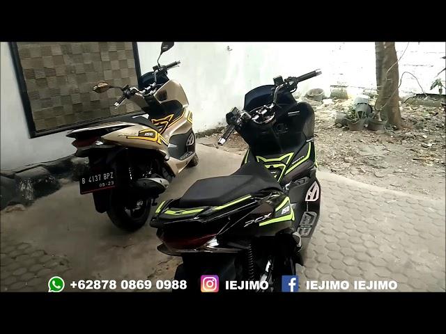 MODIFIKASI HONDA PCX 150 TAHUN 2018 ( 4 MOTORCYCLE )