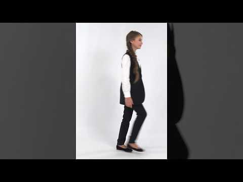 Жилет школьный для девочки 34-8001-1 ТМ Зиронька