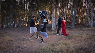 Behind The Scenes Maternity Photo-Video Session | Ventura | CA