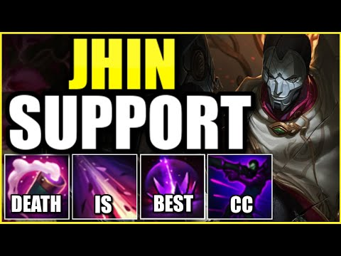 WAIT… IS JHIN SUPPORT ACTUALLY GOD-TIER IN SEASON 11?! – League of Legends