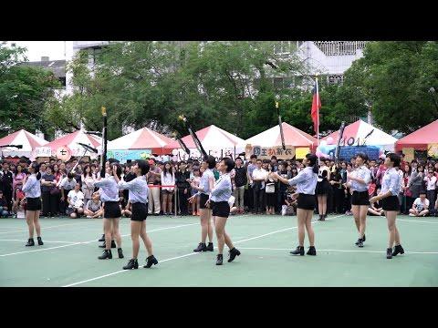 (4K) 2017.04.22 台中女中園遊會~ 中女儀隊表演