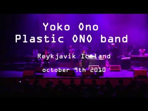Give peace a chance Plastic Ono band LIVE in Reykjavik Iceland on John Lennon´s 70th birthday 2010