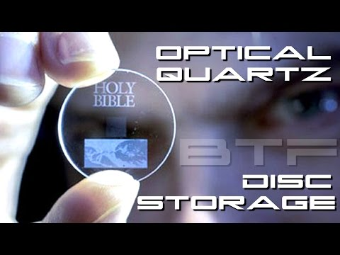 Optical Data 360TB Quartz Disc Storage - BTF