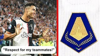 Cristiano Ronaldo REFUSES to wear Serie A badge! - Football News