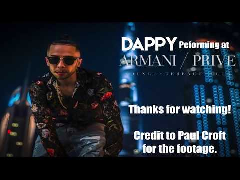 Dappy - Live at Armani Prive - Dubai