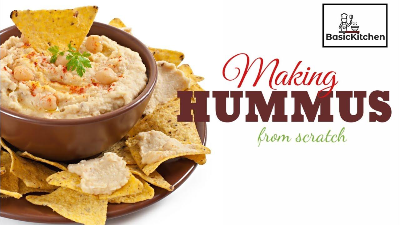 how to make hummus arabic style