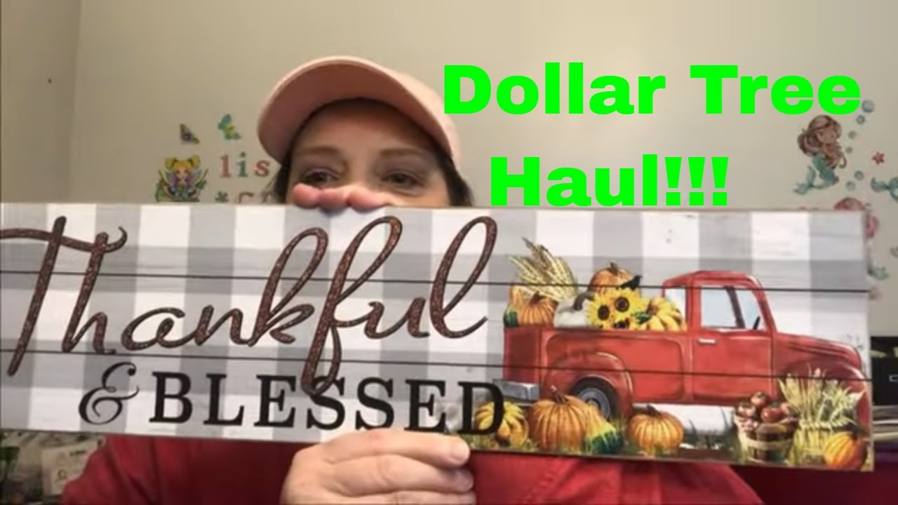 Large Dollar Tree Haul - New Fall Items & More