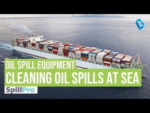 Cleaning Oil Spills at Sea - SpillPro's Oil Spill Equipment List