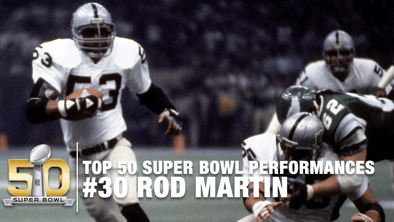 #30: Rod Martin Super Bowl XV Highlights