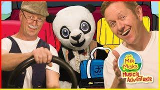 Wheels On The Bus - Nursery Rhymes & Kids Songs - The Mik Maks