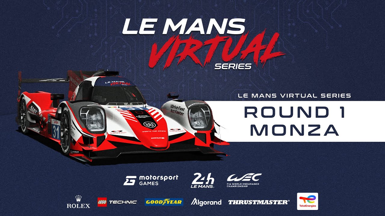 Virtual Le mans rFactor 2 Live Round One Monza