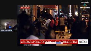 6 OFFICERS SHOT IN PHILADELPHIA SHOOTOUT