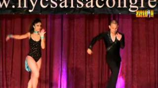 ataca la alemana open sat night at 2010 ny salsa congress