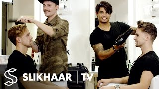 The Battle | Mens hairstyling in 5 minutes | Hairstyling inspiration