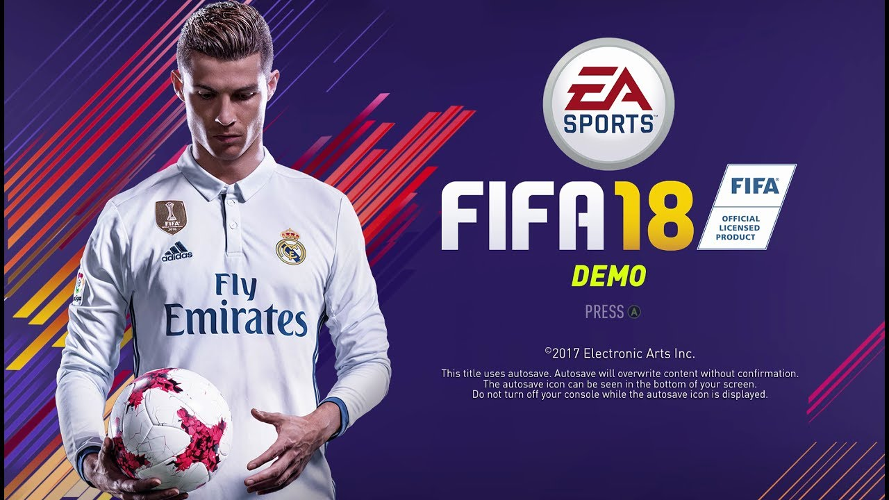 Official Fifa  Demo Gameplay