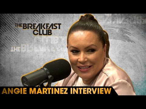 Angie Martinez Interview at The Breakfast Club Power 105.1 (05/12/2016)