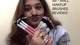bs mall makeup brushes review