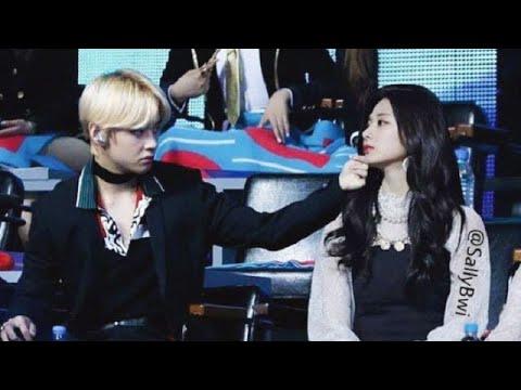 태쯔💜TaeTzu is real│BTS V ♡TWICE Tzuyu  Moments Part5
