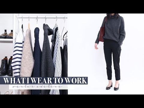 What I wear to Work in a Week - Winter Edition | Mademoiselle